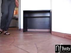 NF Busty - Big Natural Tit Valentina Nappi Fucks Sisters Boyfriend