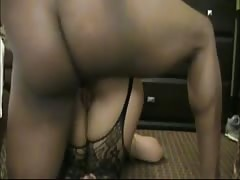 Interracial BBW Anal