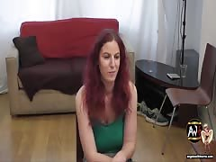 Casting Couch Slut gangbang, fisted and spunked on