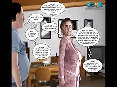 3D Comic: The Fall of Innocence 17-18