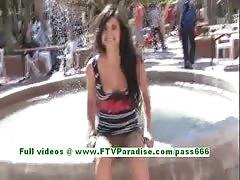 Trisha ftv delibery flashing front people