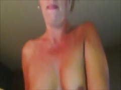 My wife cums on my cock while riding it