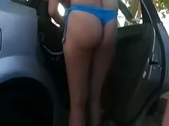 women in beach