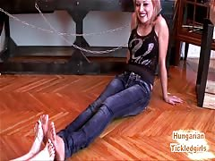 Hungarian Tickled Girls