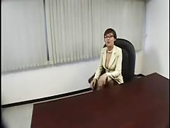 Japanese Lady Boss Horny at the Office-by PACKMANS