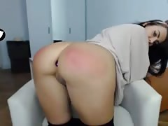 Polish girl with sexy red ass