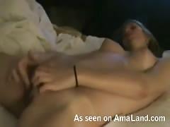 Hot homemade masturbation