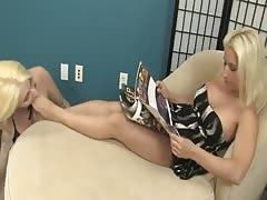lesbian lick mistress feet
